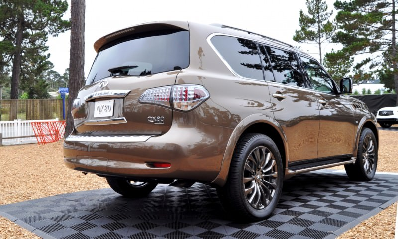 Car-Revs-Daily.com 2015 INFINITI QX80 Limited Pebble Beach 61