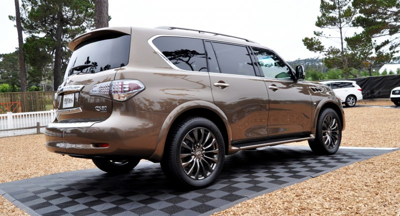 Car-Revs-Daily.com 2015 INFINITI QX80 Limited Pebble Beach 62
