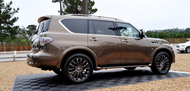 Car-Revs-Daily.com 2015 INFINITI QX80 Limited Pebble Beach 64