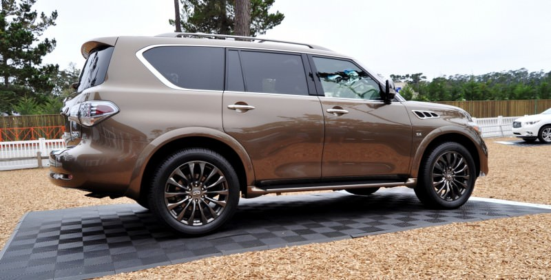 Car-Revs-Daily.com 2015 INFINITI QX80 Limited Pebble Beach 65