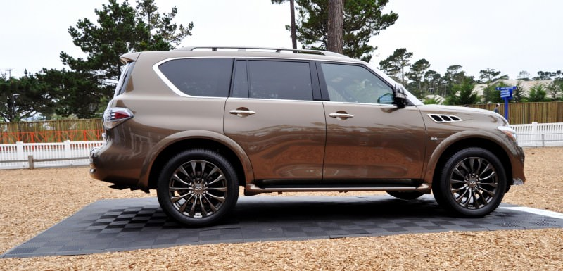 Car-Revs-Daily.com 2015 INFINITI QX80 Limited Pebble Beach 66