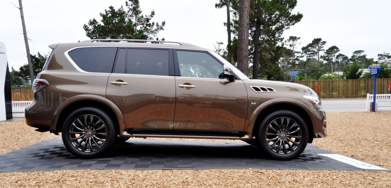 Car-Revs-Daily.com 2015 INFINITI QX80 Limited Pebble Beach 68