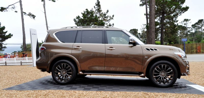 Car-Revs-Daily.com 2015 INFINITI QX80 Limited Pebble Beach 69