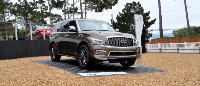 Car-Revs-Daily.com 2015 INFINITI QX80 Limited Pebble Beach 70