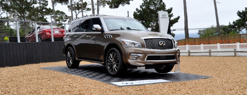 Car-Revs-Daily.com 2015 INFINITI QX80 Limited Pebble Beach 72