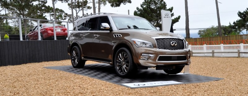 Car-Revs-Daily.com 2015 INFINITI QX80 Limited Pebble Beach 73