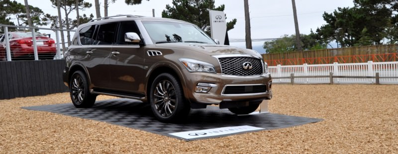 Car-Revs-Daily.com 2015 INFINITI QX80 Limited Pebble Beach 74