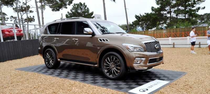 Car-Revs-Daily.com 2015 INFINITI QX80 Limited Pebble Beach 75