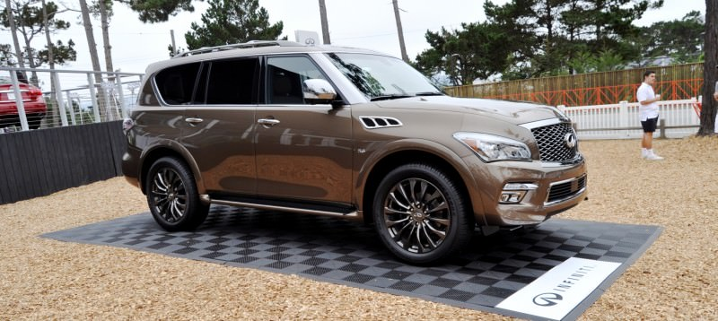Car-Revs-Daily.com 2015 INFINITI QX80 Limited Pebble Beach 76