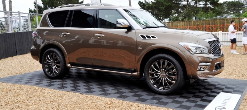 Car-Revs-Daily.com 2015 INFINITI QX80 Limited Pebble Beach 77