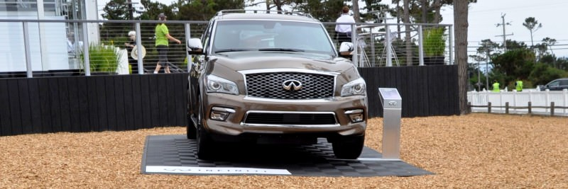 Car-Revs-Daily.com 2015 INFINITI QX80 Limited Pebble Beach 9