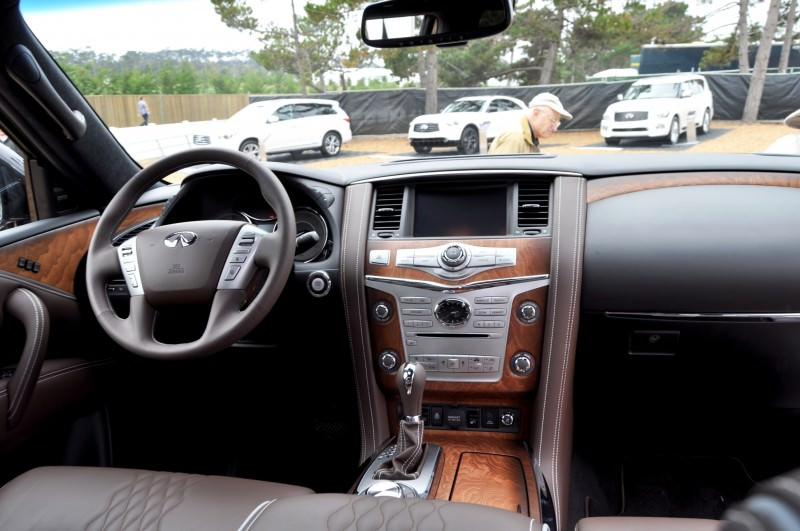 Car-Revs-Daily.com 2015 INFINITI QX80 Limited Pebble Beach 93