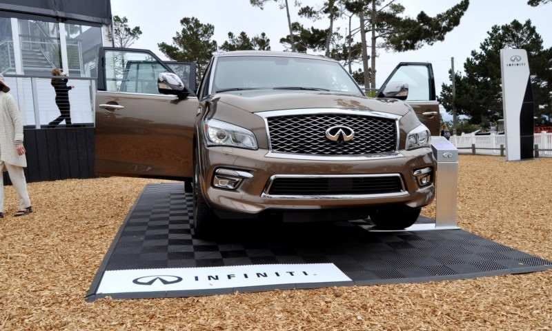 Car-Revs-Daily.com 2015 INFINITI QX80 Limited Pebble Beach 95