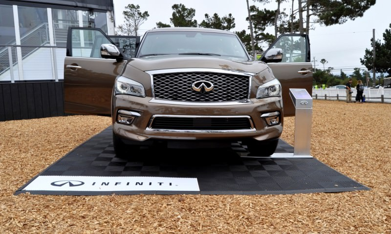 Car-Revs-Daily.com 2015 INFINITI QX80 Limited Pebble Beach 98