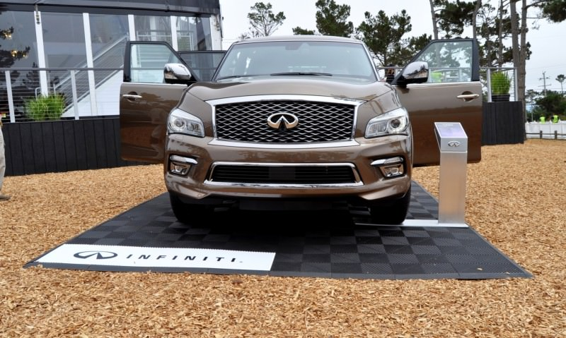 Car-Revs-Daily.com 2015 INFINITI QX80 Limited Pebble Beach 99