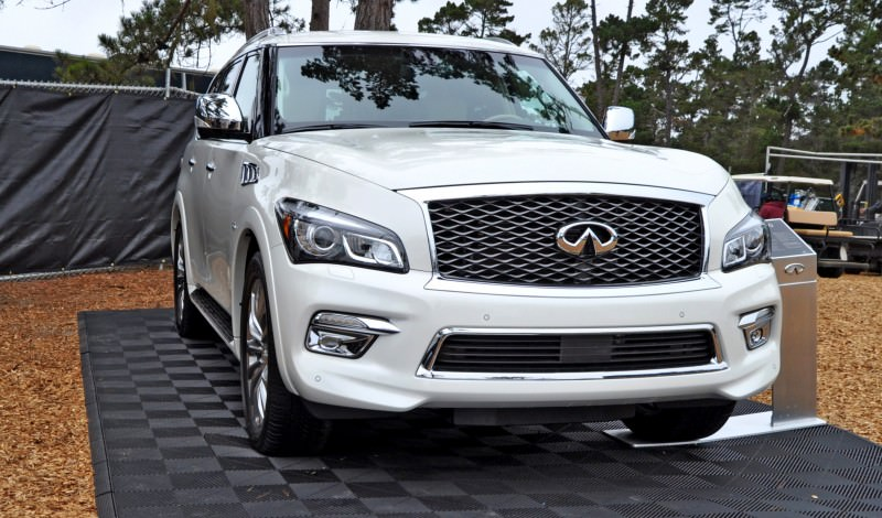 Car-Revs-Daily.com  2015 INFINITI QX80 Pebble Beach Photos 1