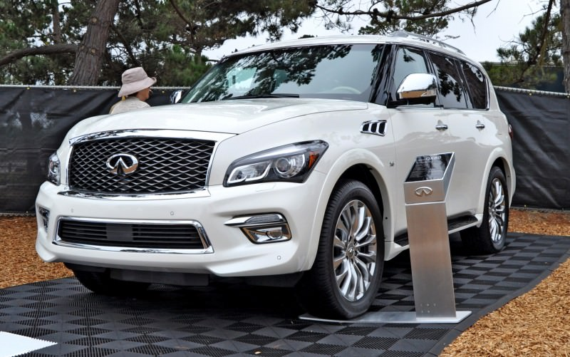 Car-Revs-Daily.com  2015 INFINITI QX80 Pebble Beach Photos 10