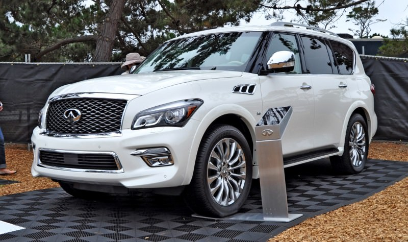 Car-Revs-Daily.com  2015 INFINITI QX80 Pebble Beach Photos 11