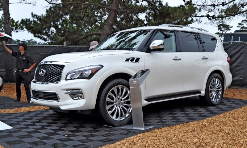 Car-Revs-Daily.com  2015 INFINITI QX80 Pebble Beach Photos 13