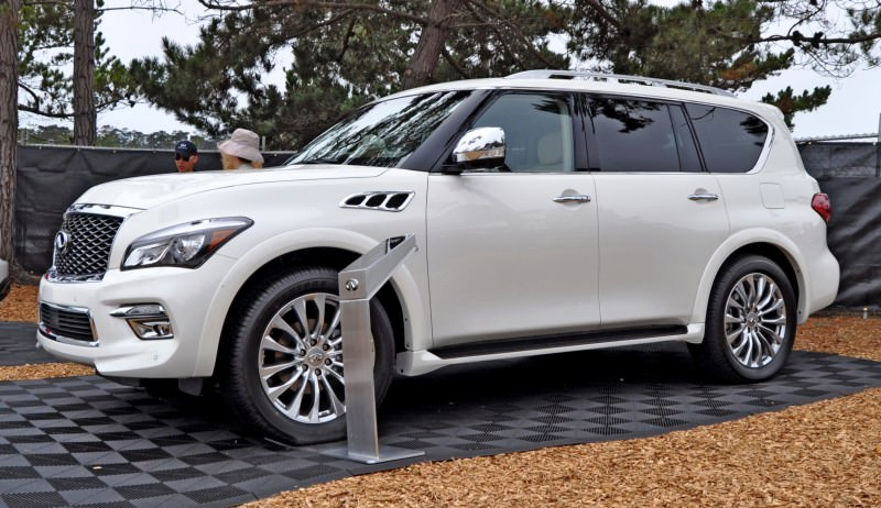 Car-Revs-Daily.com  2015 INFINITI QX80 Pebble Beach Photos 14