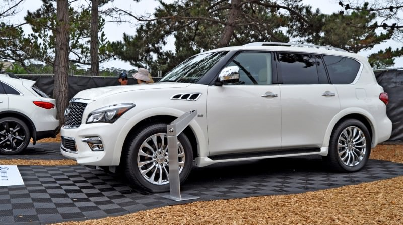 Car-Revs-Daily.com  2015 INFINITI QX80 Pebble Beach Photos 15