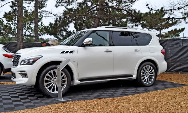 Car-Revs-Daily.com  2015 INFINITI QX80 Pebble Beach Photos 16