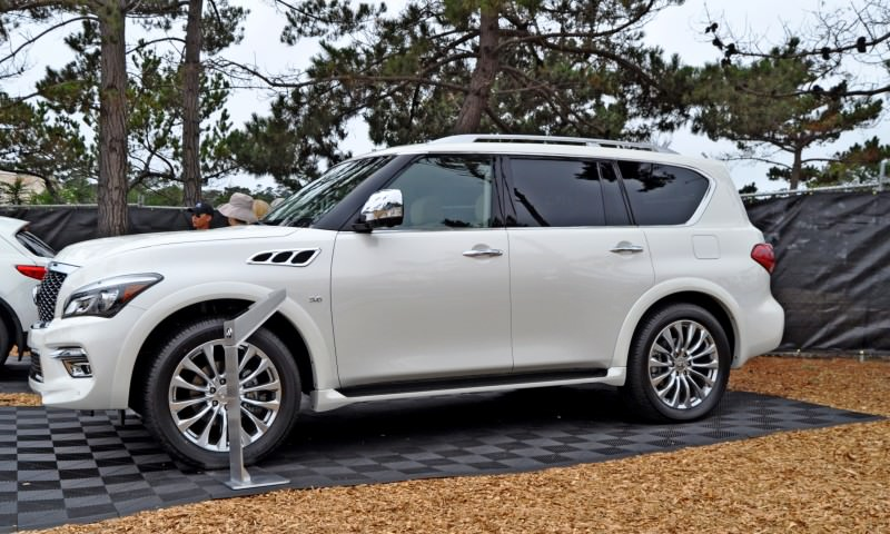 Car-Revs-Daily.com  2015 INFINITI QX80 Pebble Beach Photos 17