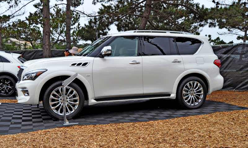 Car-Revs-Daily.com  2015 INFINITI QX80 Pebble Beach Photos 18