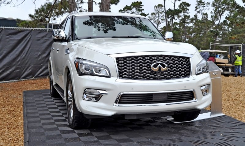 Car-Revs-Daily.com  2015 INFINITI QX80 Pebble Beach Photos 2