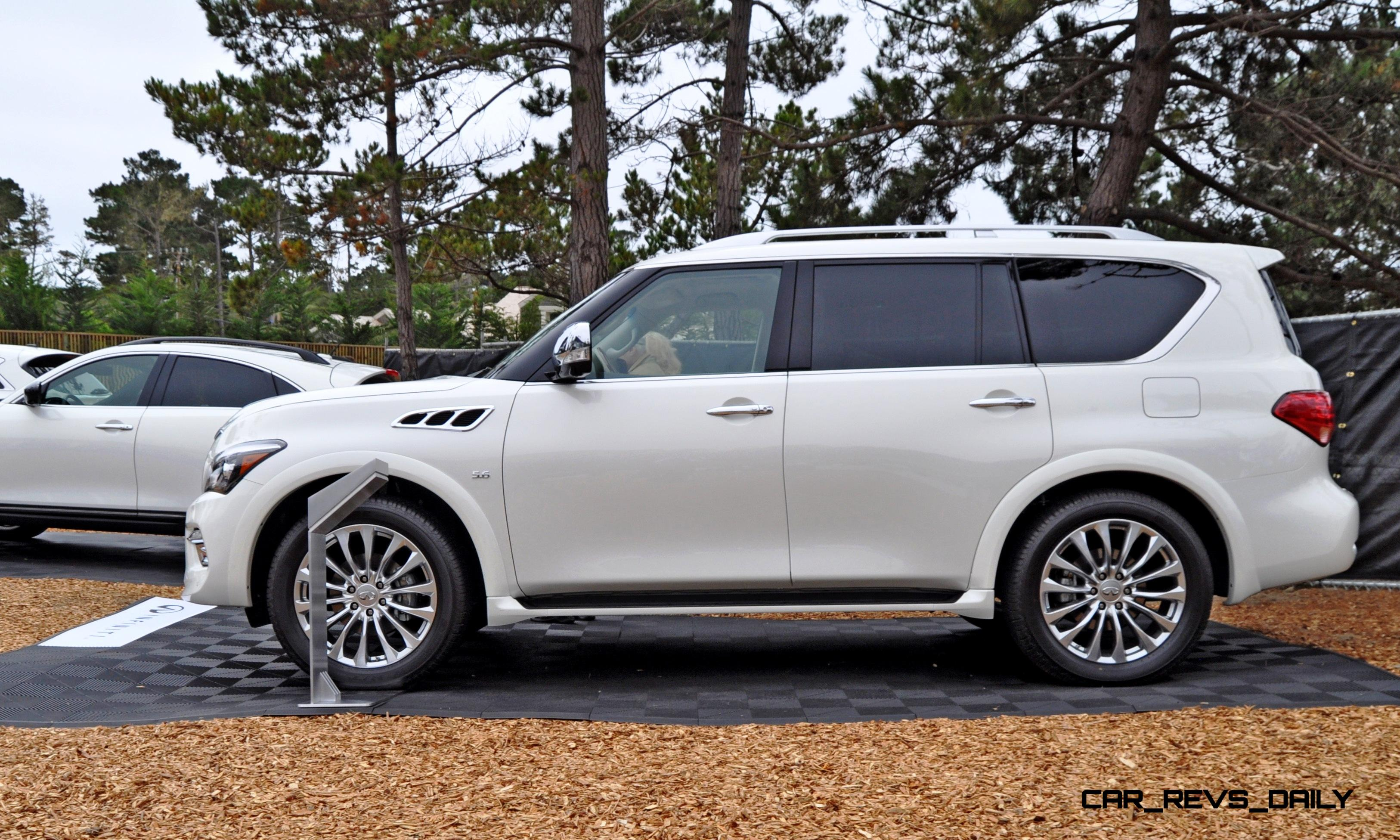2017 infiniti qx80 review ratings specs prices and. Black Bedroom Furniture Sets. Home Design Ideas