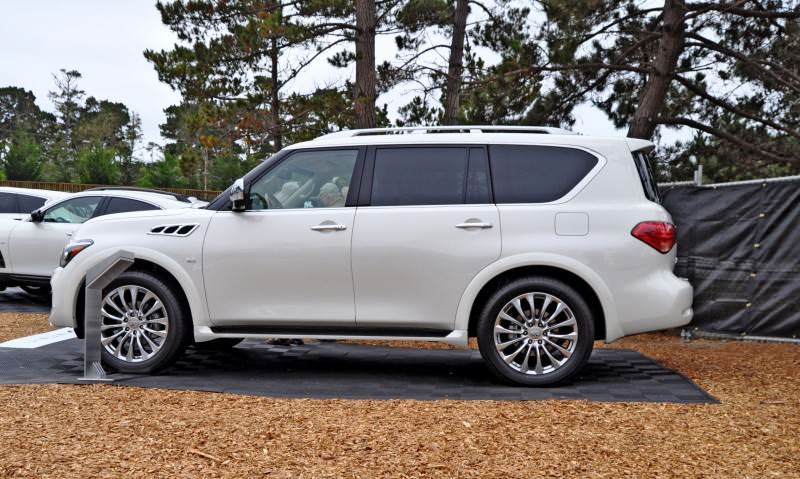 Car-Revs-Daily.com  2015 INFINITI QX80 Pebble Beach Photos 22