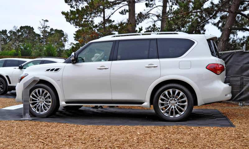 Car-Revs-Daily.com  2015 INFINITI QX80 Pebble Beach Photos 23