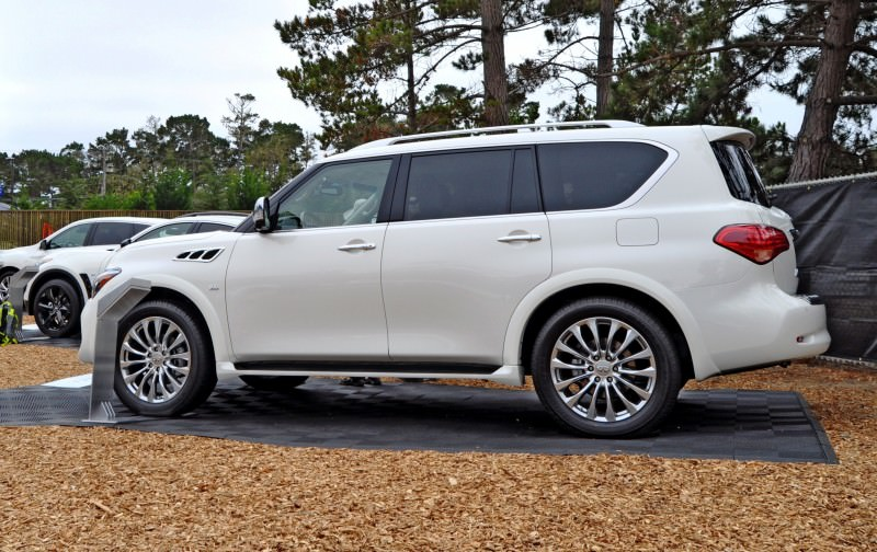 Car-Revs-Daily.com  2015 INFINITI QX80 Pebble Beach Photos 24