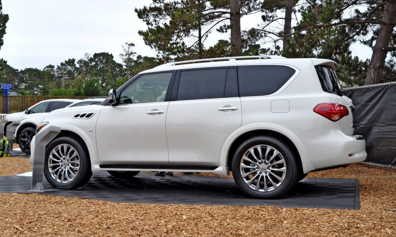 Car-Revs-Daily.com  2015 INFINITI QX80 Pebble Beach Photos 25