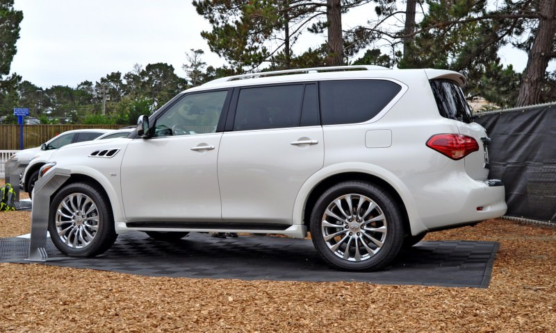 Car-Revs-Daily.com  2015 INFINITI QX80 Pebble Beach Photos 26