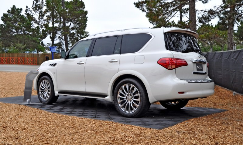 Car-Revs-Daily.com  2015 INFINITI QX80 Pebble Beach Photos 29