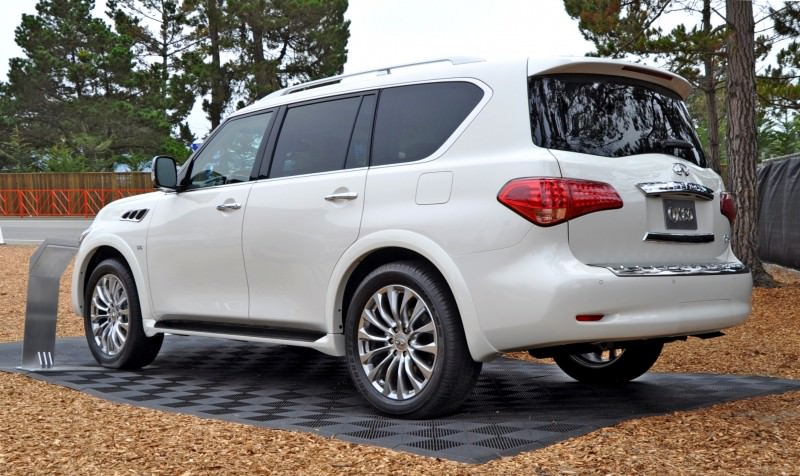 Car-Revs-Daily.com  2015 INFINITI QX80 Pebble Beach Photos 30
