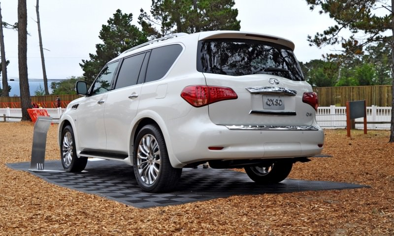 Car-Revs-Daily.com  2015 INFINITI QX80 Pebble Beach Photos 32
