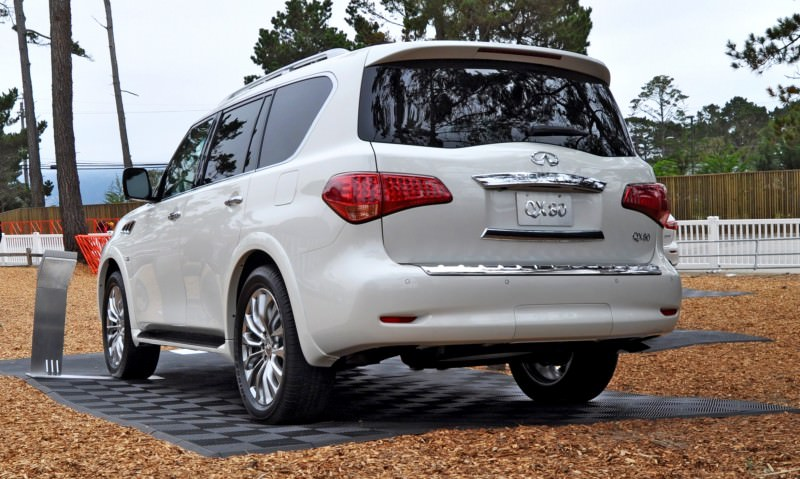 Car-Revs-Daily.com  2015 INFINITI QX80 Pebble Beach Photos 33