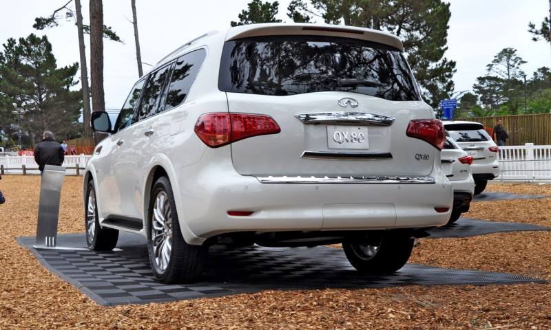Car-Revs-Daily.com  2015 INFINITI QX80 Pebble Beach Photos 34