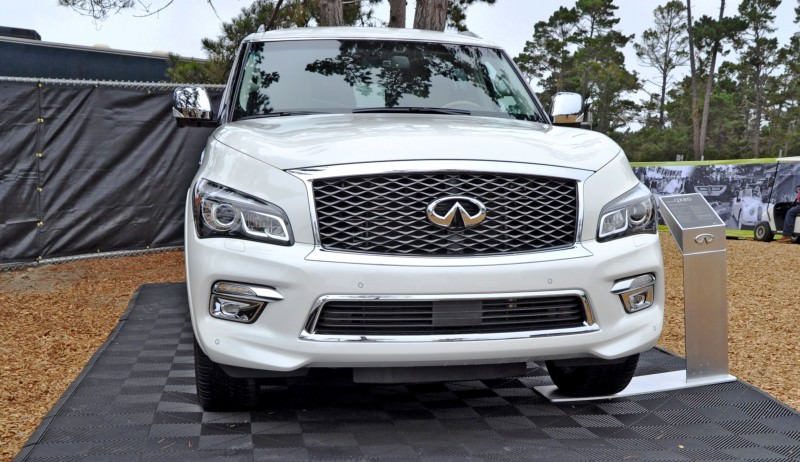 Car-Revs-Daily.com  2015 INFINITI QX80 Pebble Beach Photos 4