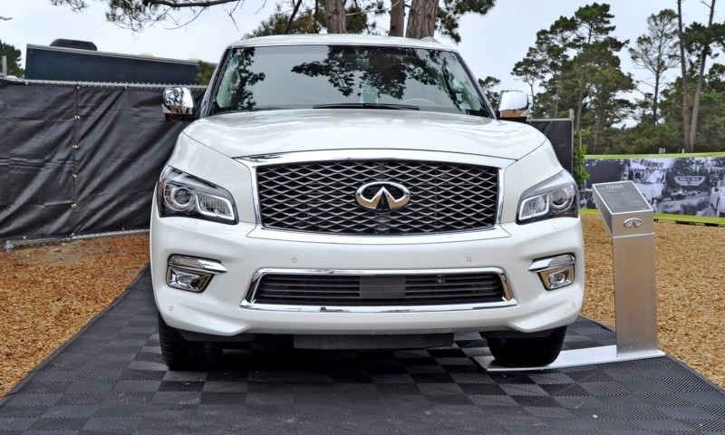 Car-Revs-Daily.com  2015 INFINITI QX80 Pebble Beach Photos 5