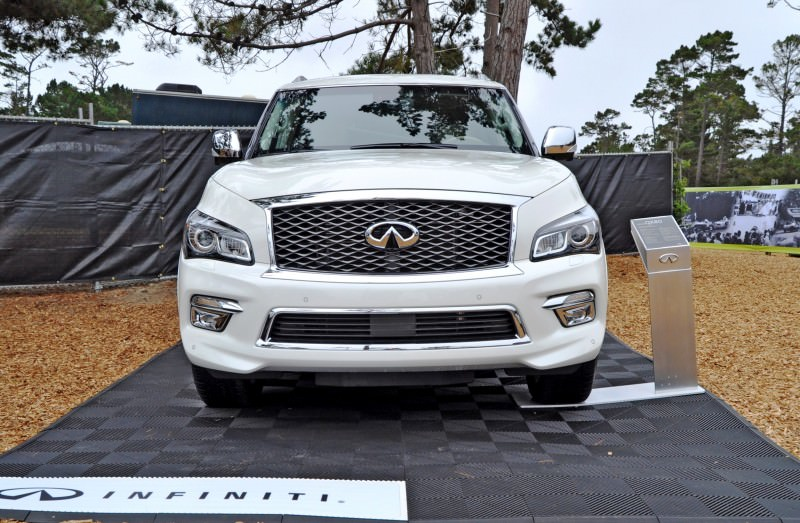 Car-Revs-Daily.com  2015 INFINITI QX80 Pebble Beach Photos 6