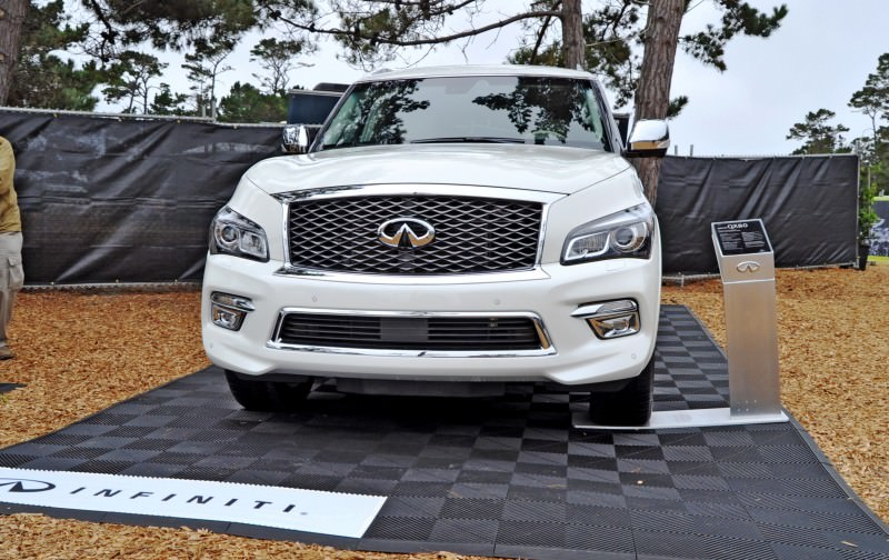 Car-Revs-Daily.com  2015 INFINITI QX80 Pebble Beach Photos 7