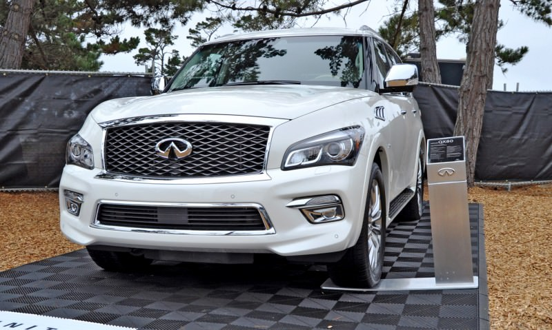 Car-Revs-Daily.com  2015 INFINITI QX80 Pebble Beach Photos 8