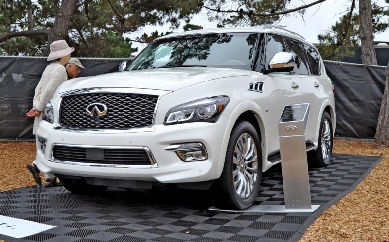 Car-Revs-Daily.com  2015 INFINITI QX80 Pebble Beach Photos 9