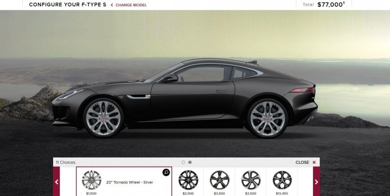 Car-Revs-Daily.com 2015 JAGUAR F-Type S Coupe - Options, Exteriors and Interior Colors Detailed10