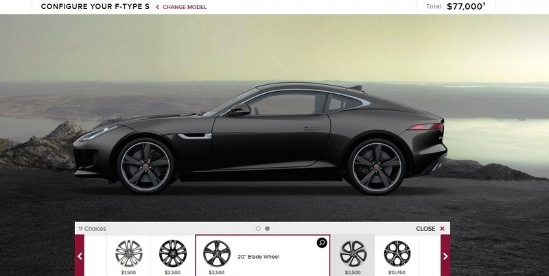 Car-Revs-Daily.com 2015 JAGUAR F-Type S Coupe - Options, Exteriors and Interior Colors Detailed12
