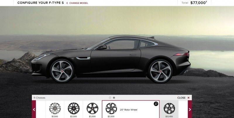 Car-Revs-Daily.com 2015 JAGUAR F-Type S Coupe - Options, Exteriors and Interior Colors Detailed13