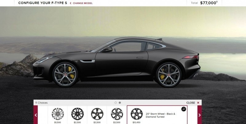 Car-Revs-Daily.com 2015 JAGUAR F-Type S Coupe - Options, Exteriors and Interior Colors Detailed14